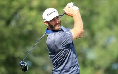 dustin johnson golf