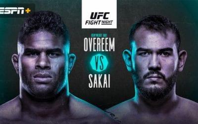 UFC Fight Night: Overeem vs. Sakai Predictions & Betting Tips