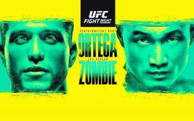 UFC Fight Night: Ortega vs. The Korean Zombie Predictions & Betting Tips