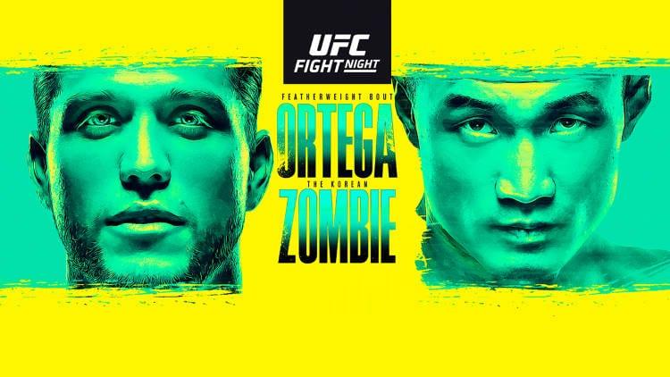 UFC Fight Night: Ortega vs. The Korean Zombie Predictions & Betting Tips