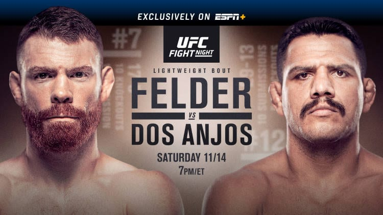 UFC Fight Night: Felder vs. dos Anjos Predictions & Betting Tips