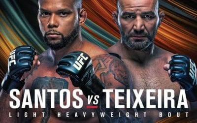 UFC Fight Night: Santos vs. Teixeira Predictions & Betting Tips