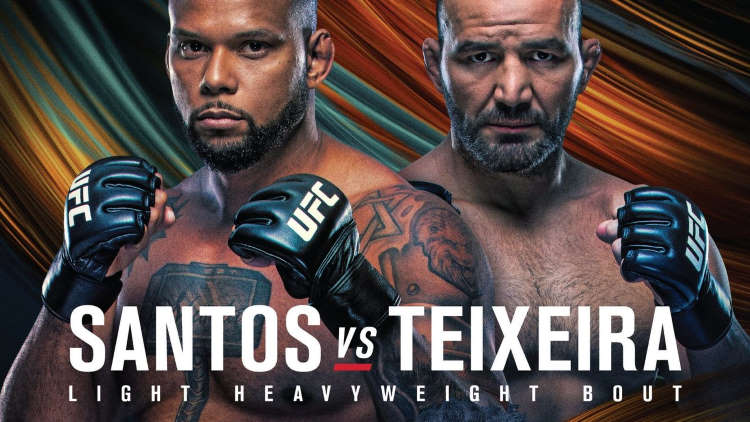 UFC Fight Night: Santos vs. Teixeira Predictions & Betting Tips