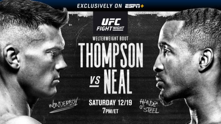 ufc thompson vs neal