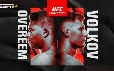 UFC Fight Night: Overeem vs. Volkov Predictions & Fight Picks