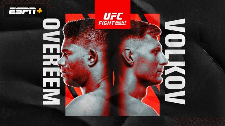 UFC Fight Night: Overeem vs. Volkov Predictions & Fight Picks
