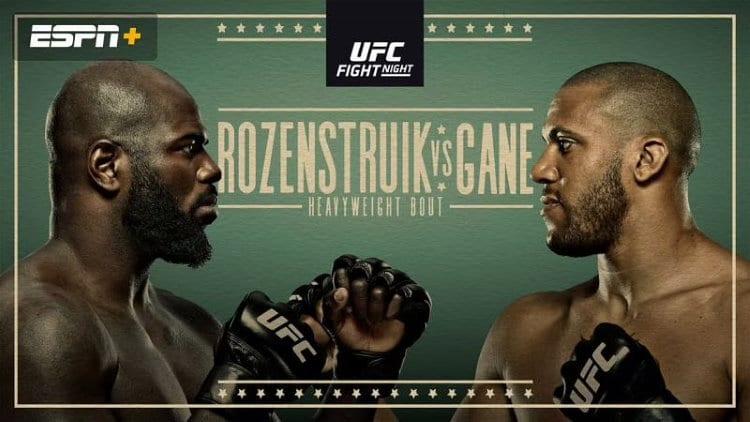 UFC Fight Night: Rozenstruik vs. Gane Predictions & Fight Picks