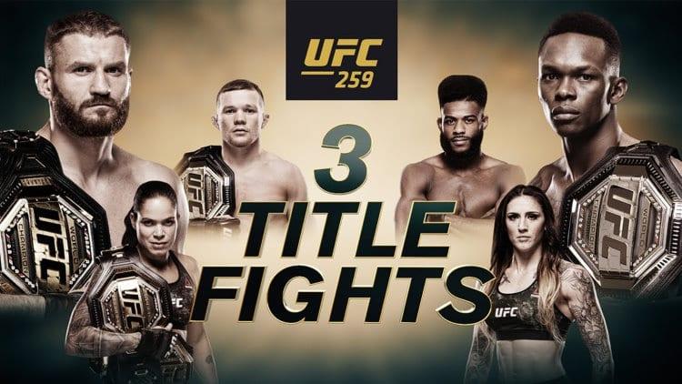 UFC 259: Błachowicz vs. Adesanya Predictions & Fight Picks