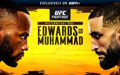 UFC Fight Night: Edwards vs. Muhammad Predictions & Fight Picks