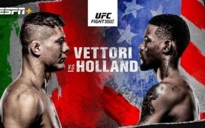 UFC on ABC 2: Vettori vs. Holland Predictions & Betting Tips