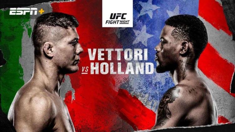 UFC on ABC 2: Vettori vs. Holland Predictions & Betting Tips