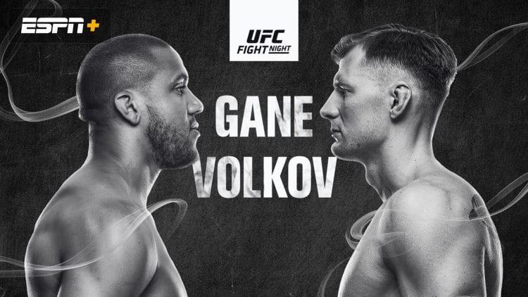 UFC Fight Night: Gane vs. Volkov Predictions & Fight Picks