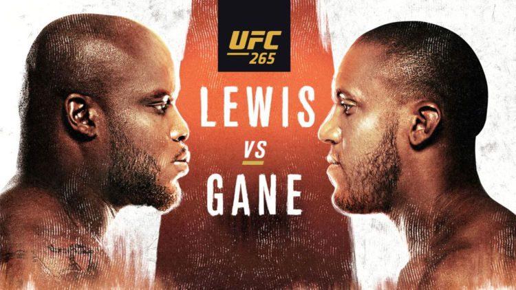 UFC 265: Lewis vs Gane Predictions & Fight Picks
