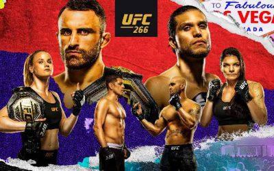 UFC 266: Volkanovski vs. Ortega Predictions & Fight Picks