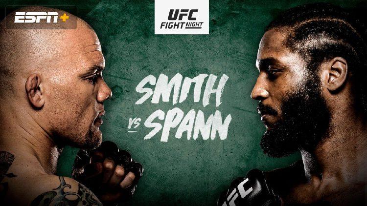 UFC Fight Night: Smith vs. Spann Predictions & Betting Tips